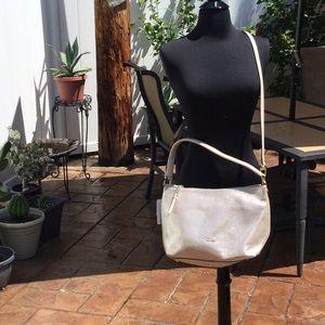 NWT Gold Calvin Klein Angelina handbag